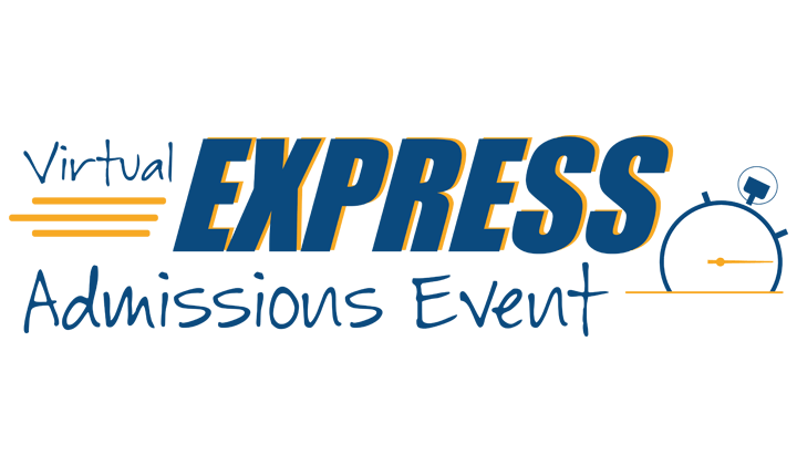 Virtual express admissions event