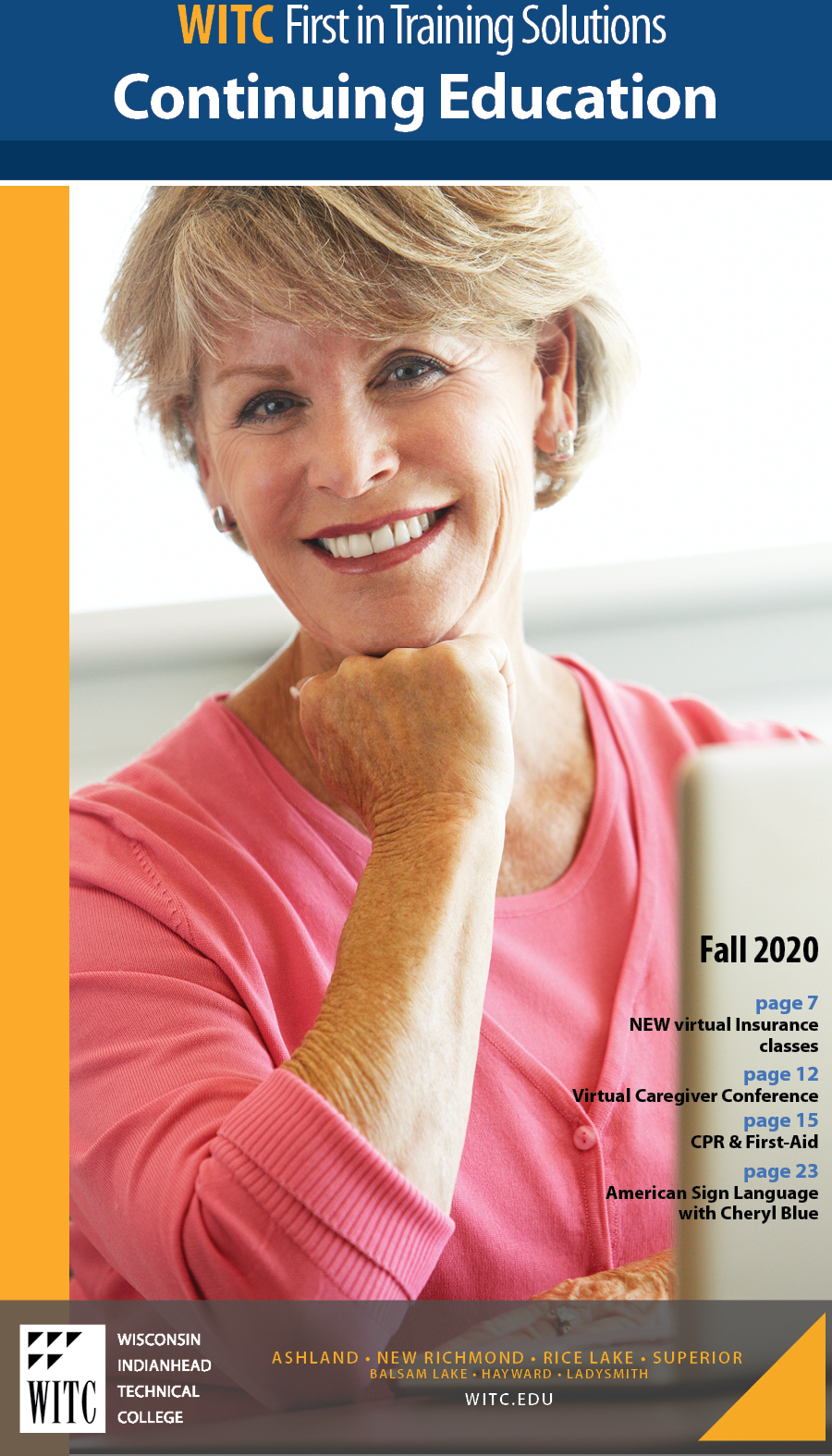 Fall 2020 Pofessional Development Catalog