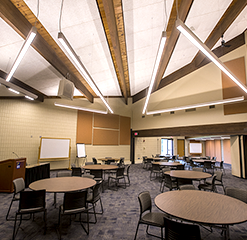 Inside view of Ashland Conference Center