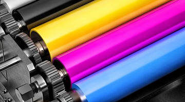 CMYK inkjet for a printer