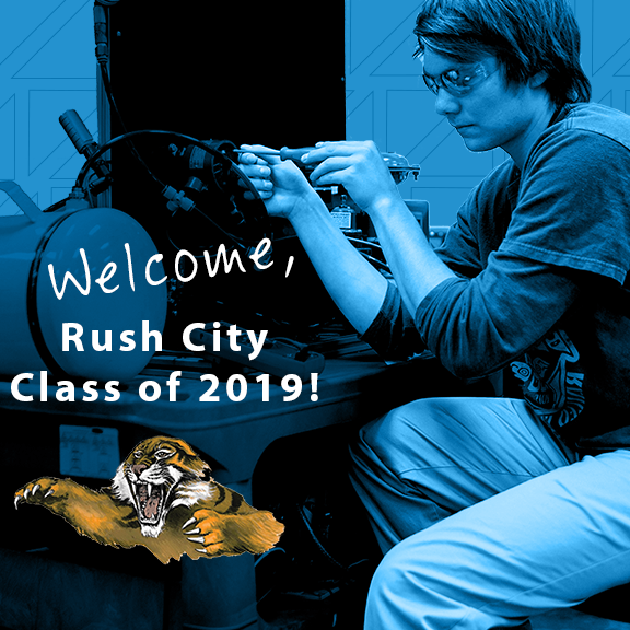 Welcome Rush City High School students