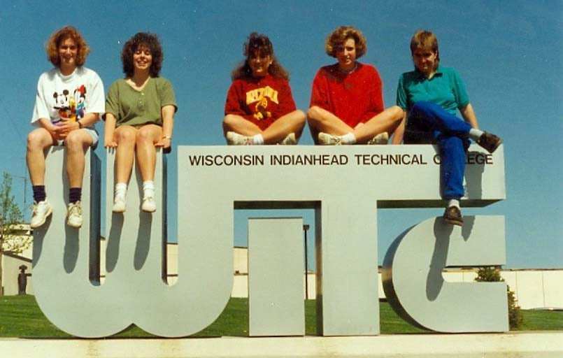 Historical image of WITC sign