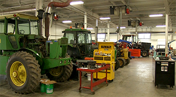 WITC's Agricultural Power and Equipment lab