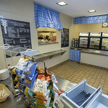 Image of the WITC-Ashland campus's cafe, Food Stop