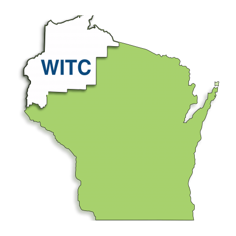 Map of WITC district